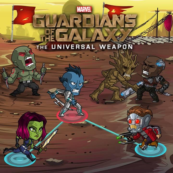 guardianes Marvel