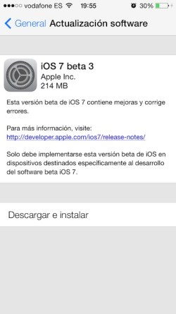 iOS 7 beta 3 9