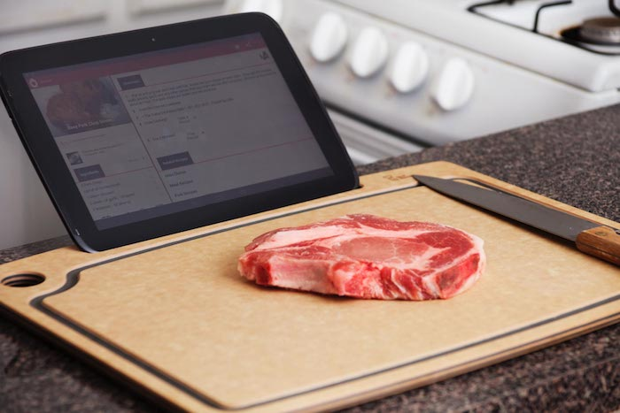iPad Cutting Board 2