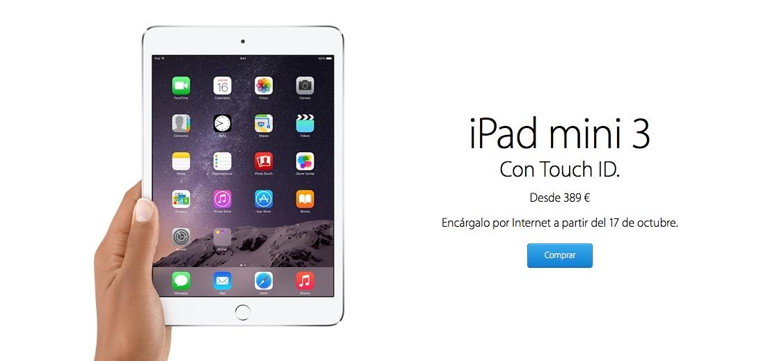 iPad Mini 3 Comprar