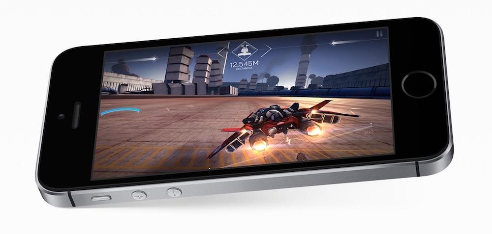 iPhone SE juegos