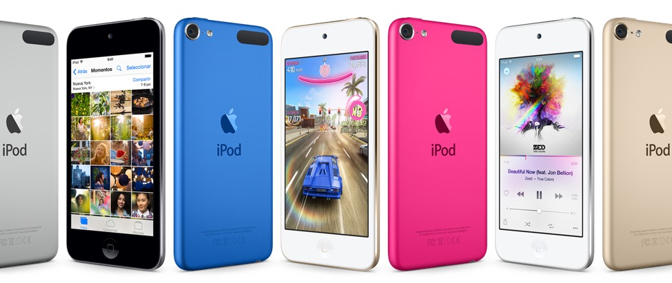nuevos iPod Touch