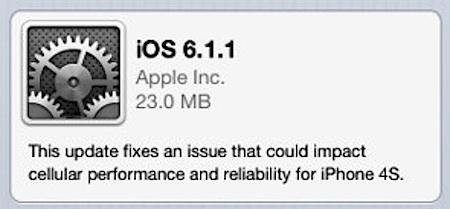 ios 611 iphone 4s