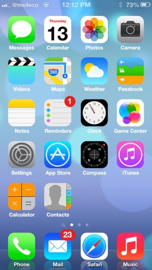 iOS 7 Theme Cydia 2