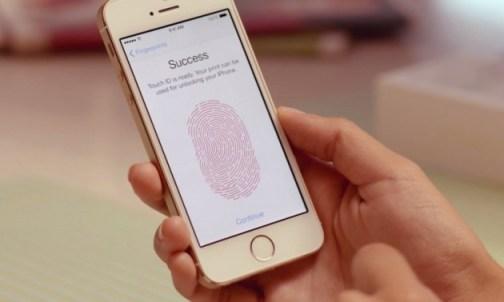 iPhone 5S detección huellas