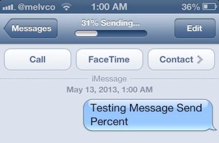 message-send-percent