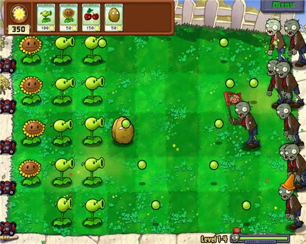 plantas vs zombies