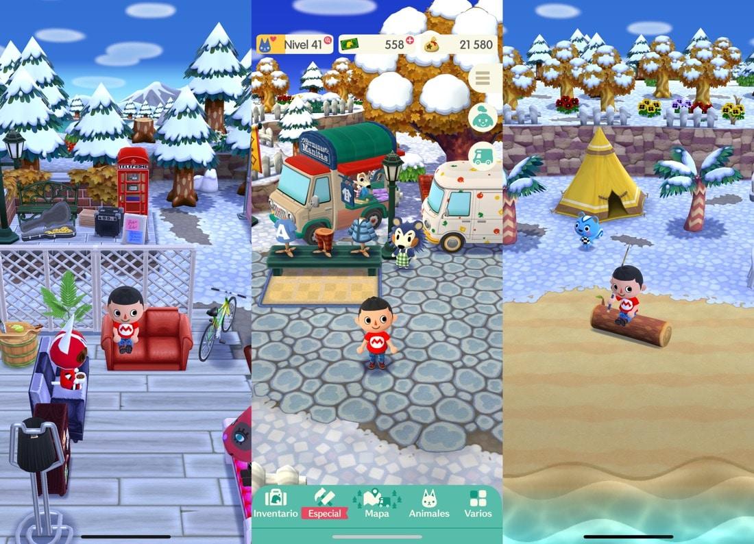 Animal Crossing: Pocket Camp nieve
