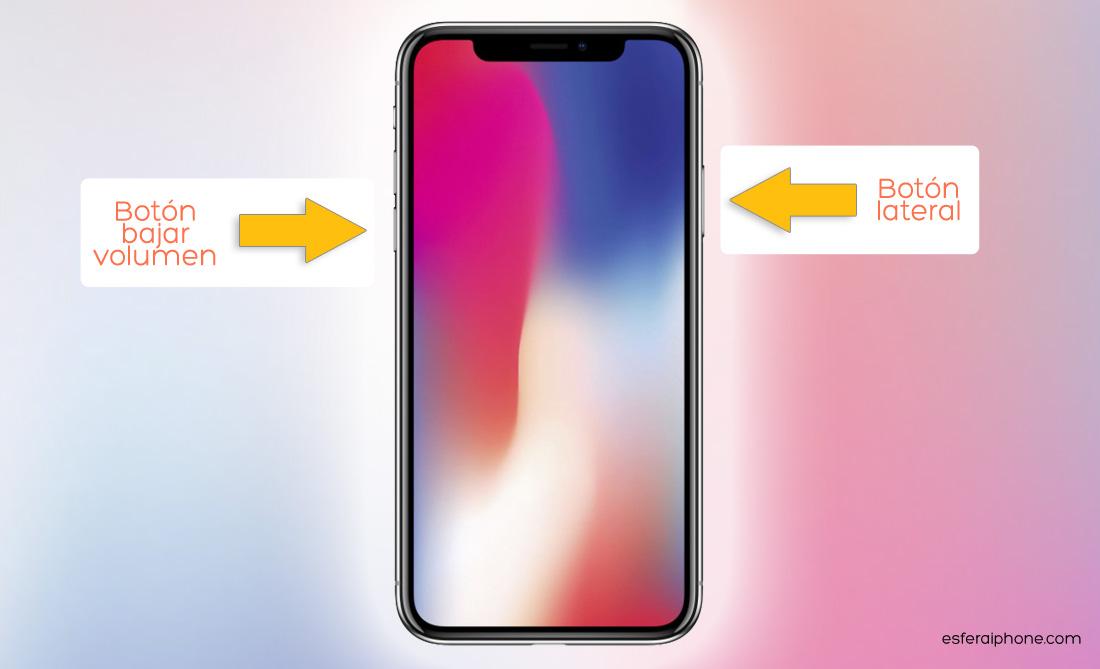 Apagar iPhone X
