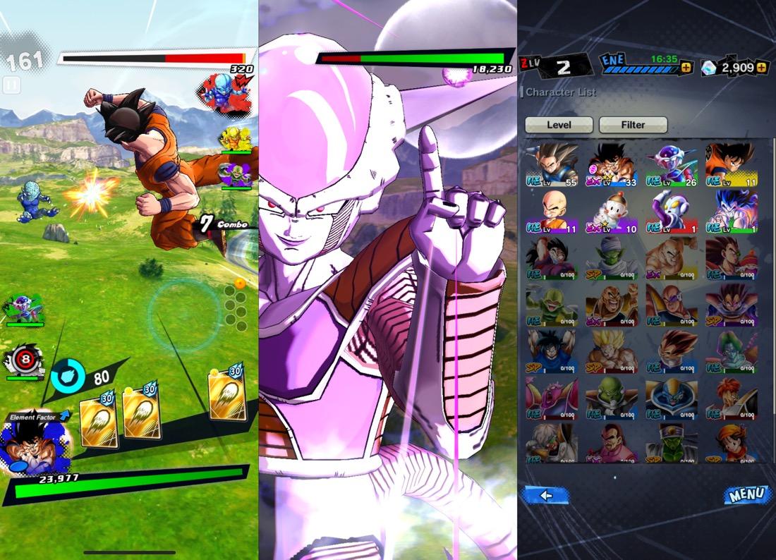 Dragon Ball Legends iPhone X
