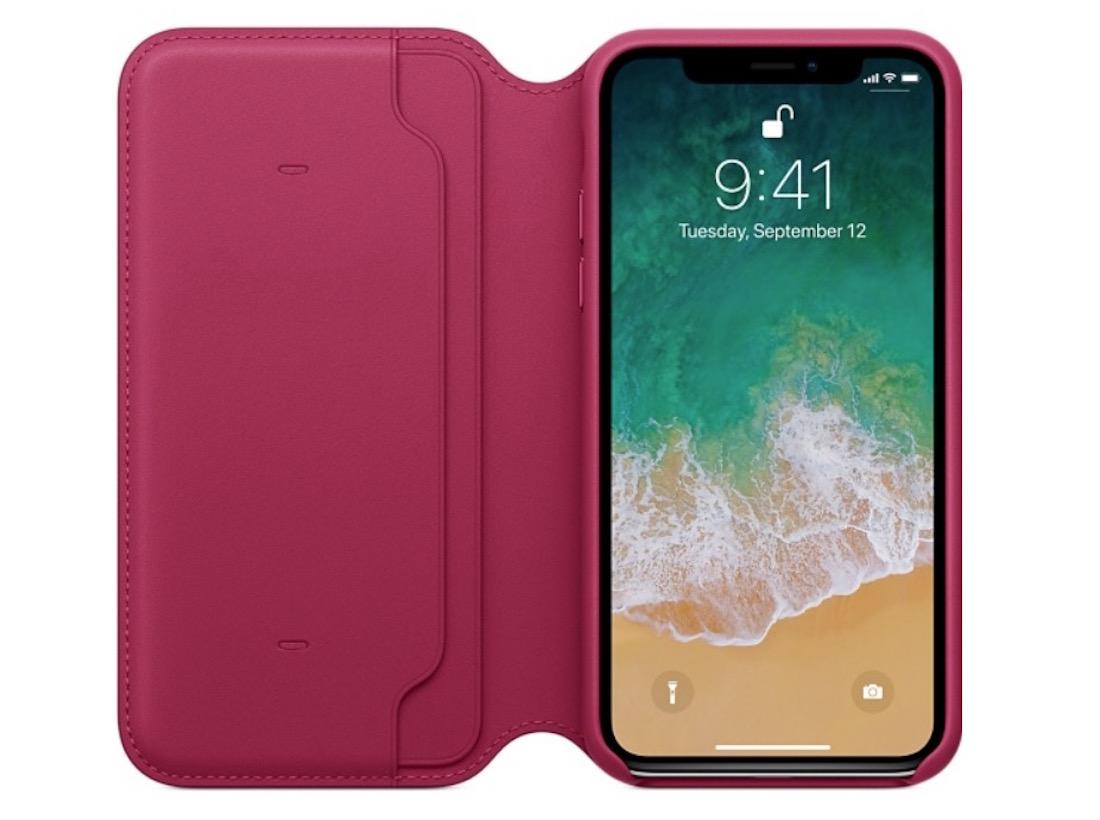 Funda Apple Folio iPhone X