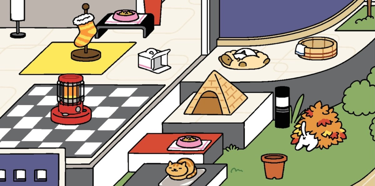 Neko atsume - juego gatos iPhone
