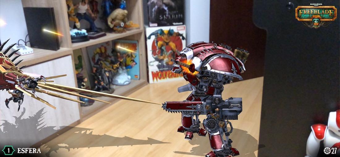 Warhammer Realidad Aumentada