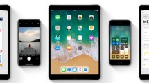 iOS 11 - iPhone- iPad