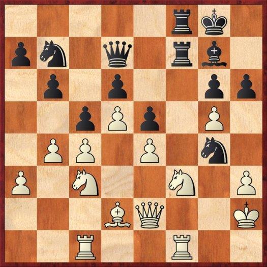 HK - Schach - Odendahl nach 25....Sg4+