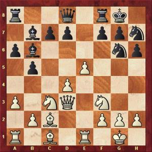 Falk vs Overhoff nach 15. ... Sg6