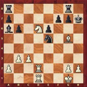 Thomas Berens vs Wolfgang Deinert nach 25. ... Tg8