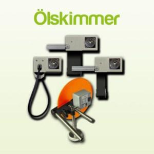 Ölskimmer, Bandskimmer, Scheibenskimmer und Schlauchskimmer