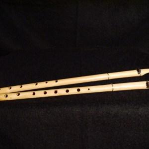 satara A double flute LA doppelflöte double-flute, flauto doppio flauta doblae