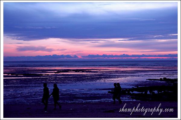 Sunset at Ao-Nang Krabi