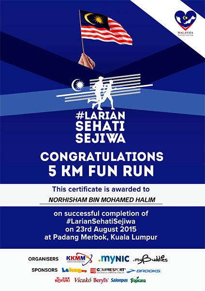 Larian-Sehati-Sejiwa-Fun-Run-5km-e-certificate-eshamzhalim