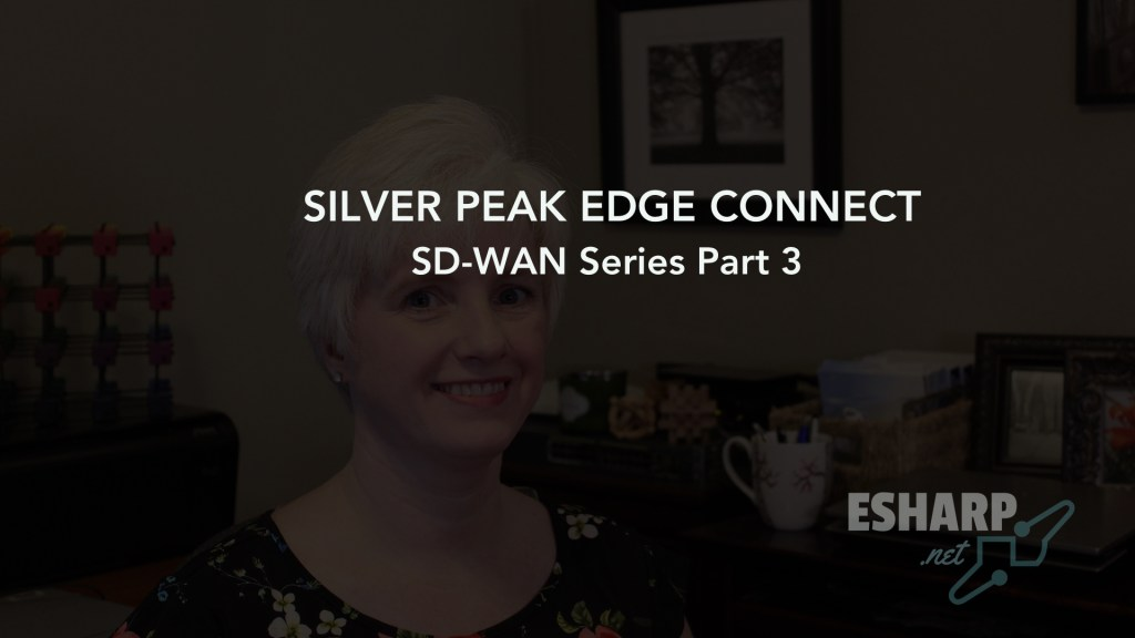 Silver Peak Edge Connect: SD-WAN Series Part 3