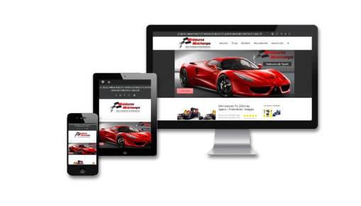 Site internet Blog d'actualités miniatures autos avec CMS