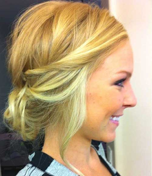 15 Best Messy Hairstyles For Short Hair Short Hairstyles
