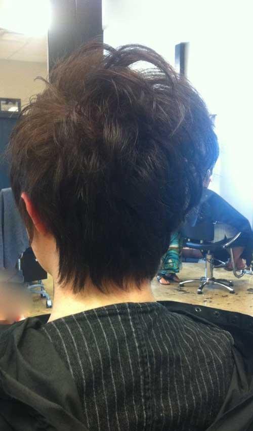 Pixie Haircut Back View Short Hairstyles Amp Haircuts