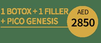 1 Botox 1 Filler +PICO Genesis