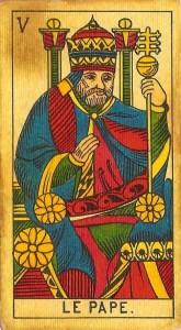 Signification du pape dans le tarot