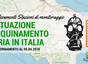 L'Inquinamento atmosferico in Italia, Aggiornamento al 05.04.2018