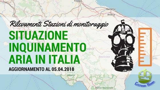Situazione inquinamento aria Italia