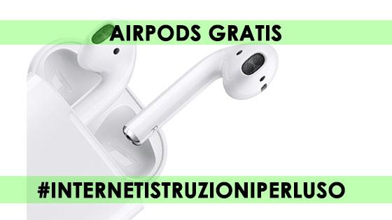 AIRPODS GRATIS