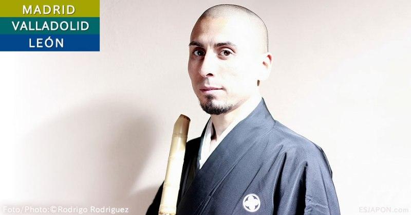 Concierto de Shakuhachi, la flauta japonesa de Rodrigo Rodríguez
