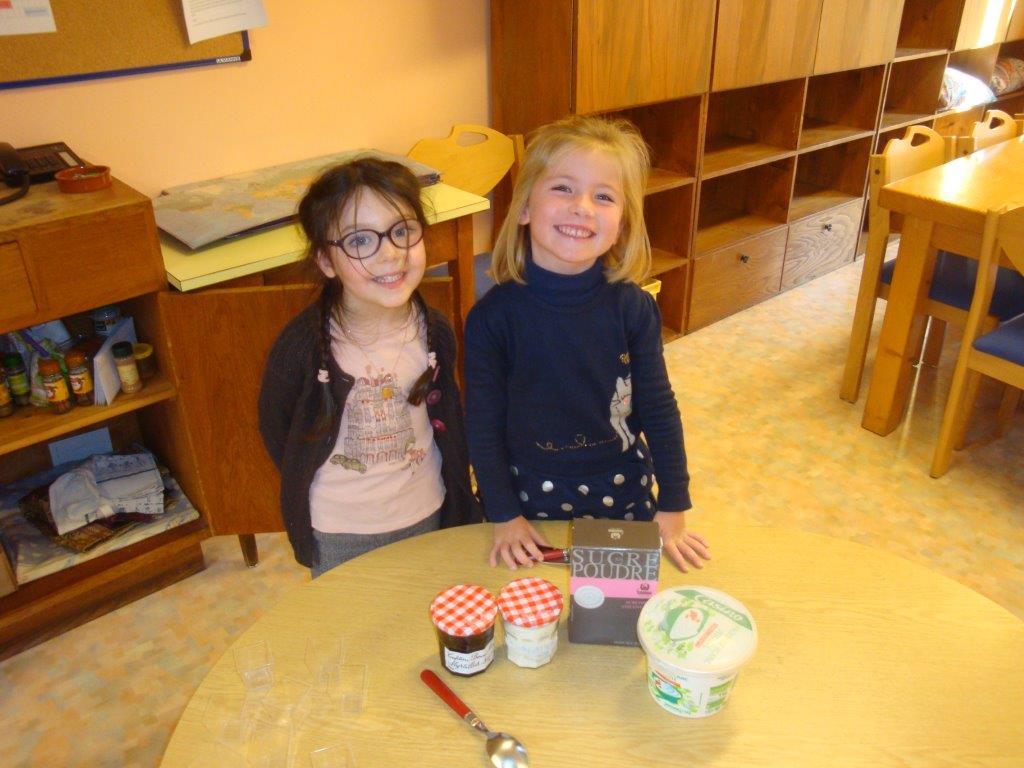 Atelier cuisine pour les fêter les 5 ans en MS GS