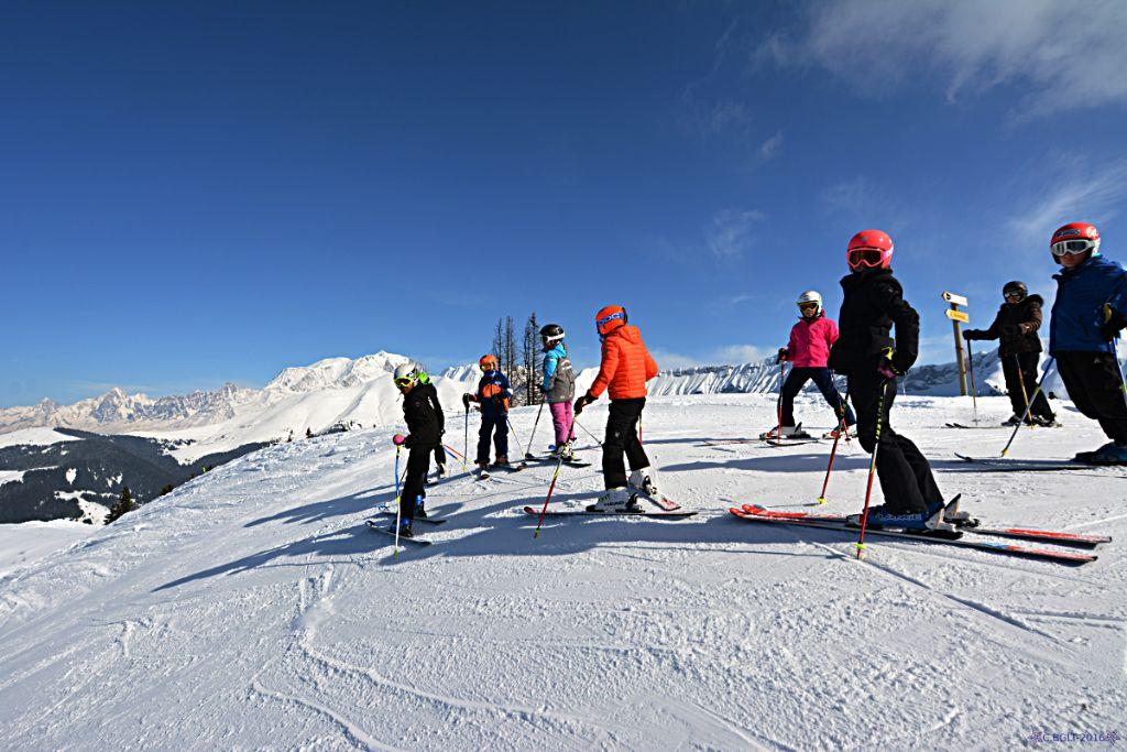 Dernière séance de ski alpin pour les classes de CE2-CM1, Cm1-CM2 et CM2