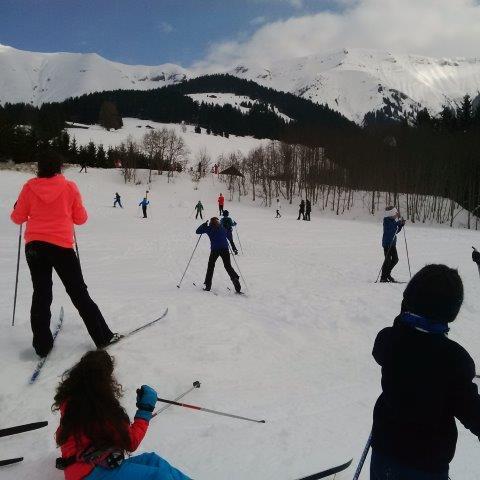 Dernières sorties de ski de fond des CM2