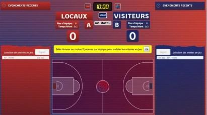 Arrivée de la E-marque à l'ESJ Basket