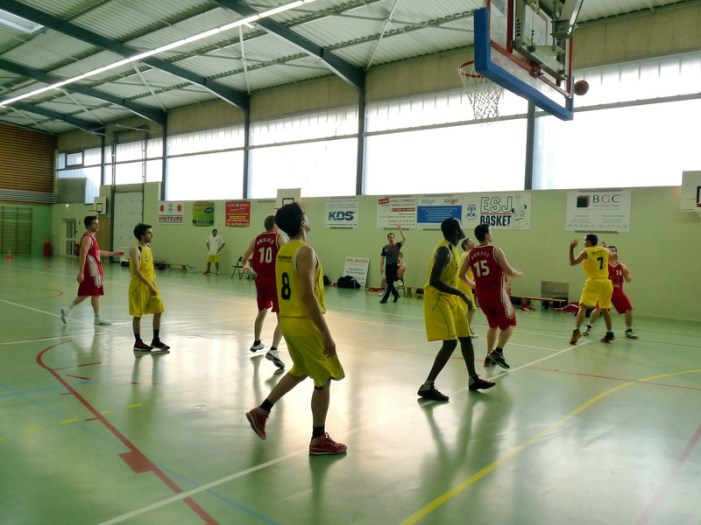 SG3 contre Bellecombe (9 mai 2015)