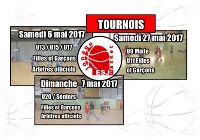 Tournois ESJ Basket 2017