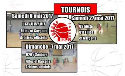 Tournois ESJ Basket 2017