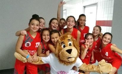 [Événement] Nos U11F avec les PROS du Lyon Basket ASVEL féminin
