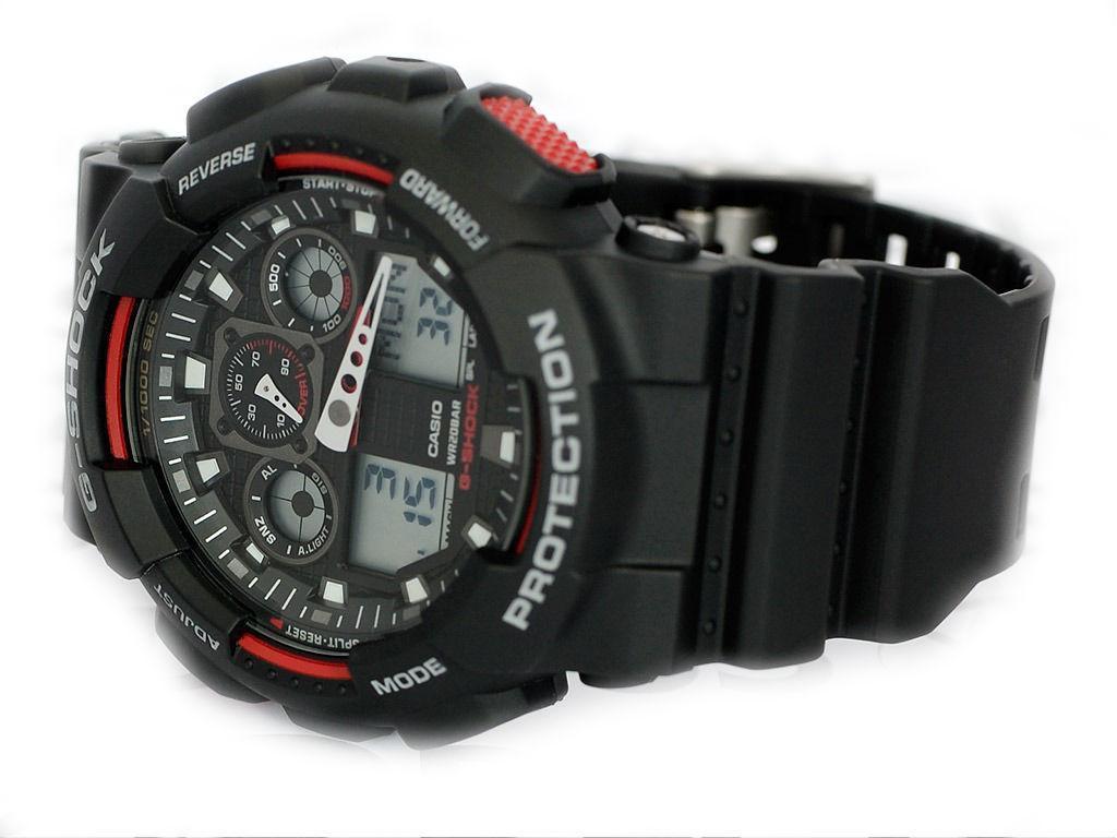 e45a76b81948 Casio G Shock GA-100  Opiniones y precio