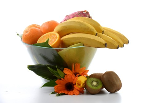 Mixed Fruits in Vase | Get Well Gifts | Eska Creative Gifting