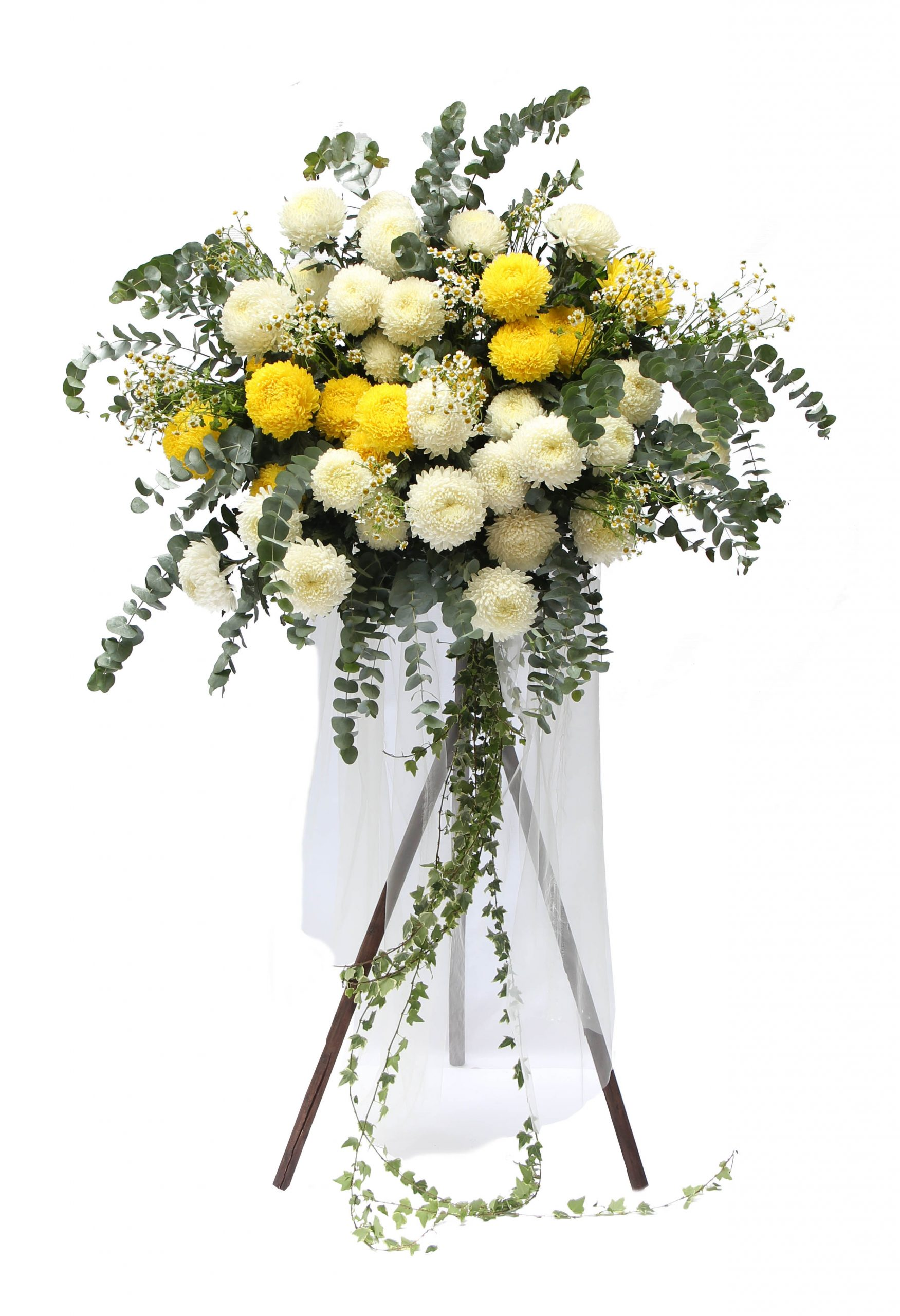 Blessings funeral condolence flower stand | Condolence Flower | Eska Creative Gifting