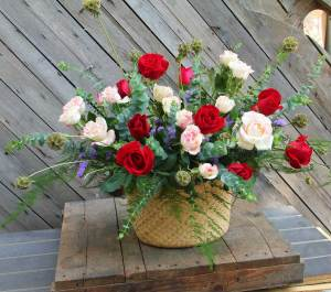 Roses For You | Beautiful Flower Box and Baskets | Eska Creative Gifting