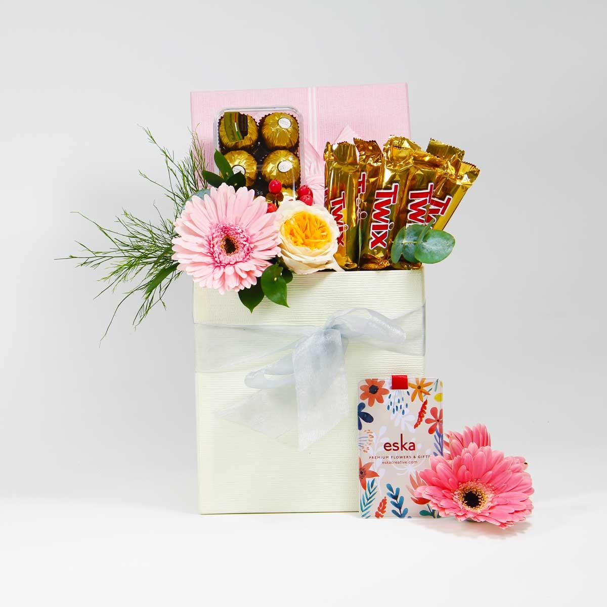 Twitz & Ferero Chocolate Box   Birthday and Gifts   Eska Creative Gifting