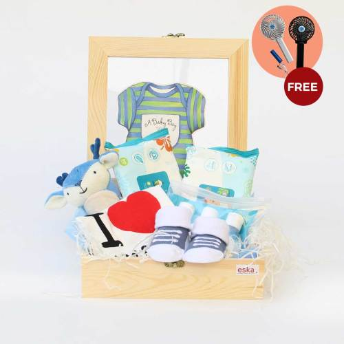 Hallo Little One | Newborn Baby Gifts | Eska Creative Gifting