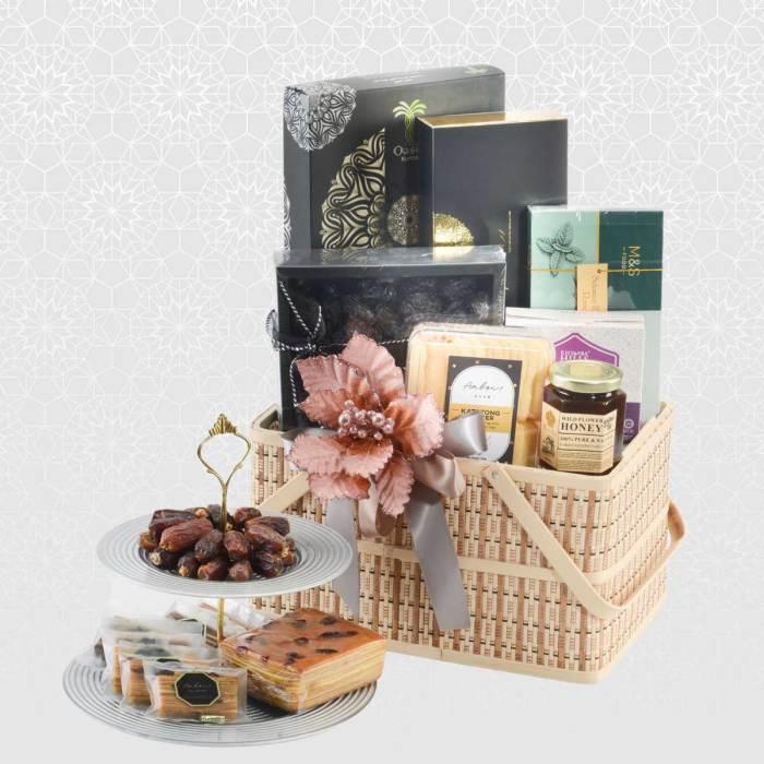 Sinaran Raya Gift Basket   Beautiful Raya Giftboxes & Hampers   Eska Creative Gifting
